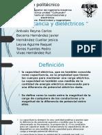 capacitancia dielectricos presentacion