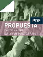 Propuesta Reforma de Estatutos MG-SDD