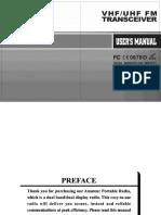 BaoFeng UV-5R Manual