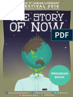 Program Book of ASEAN Literary Festival 2016