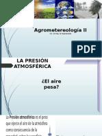 Agrometereologia II