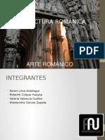 arquitectura romanica analisis upt