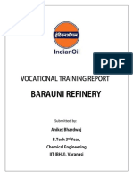 IOCL Vocational Training Report