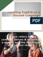 Unit Five-Culture and the Language Teacher