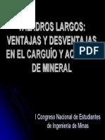 Ejemplo Carguio Taladros Largos