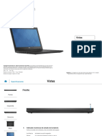 Inspiron 14 3442 Laptop Reference Guide Es Mx