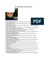20 Nama Bayi Laki Laki Islami Untaian 4 Kata.docx