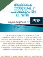 Desarrarrollo Freud y Erickson