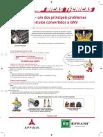 Principais problemas GNVProblemas GNV