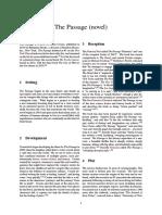 The Passage (Novel)