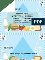 Prinsip 2&3 HACCP
