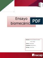 Ensayo de Biomecanica -Mano