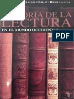 Wittmann Historia de La Lectura