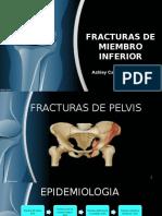 Fracturas Miembro inferior