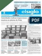 Edicion Impresa El Siglo 03-05-2016