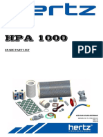 Hpa1000 Part List Rev01