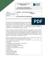 Ensayo Características Del Emprendedor André Tafur