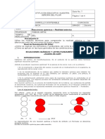 GUÍA No. 7 - Ecuaciones Químicas y Leyes Fundamentales