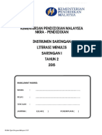 Instrumen Literasi BM Menulis Tahun 2