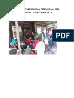 Dokumentasi Kegiatan Penyuluhan Gizi