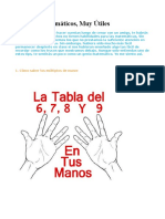 7 Trucos Matemáticos