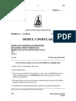Soalan Khb Pk Modul 5 (Popular)