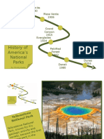 National Park Timeline powerpoint