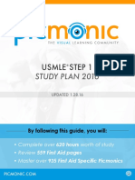 Picmonic Step 1 Study Guide 2016