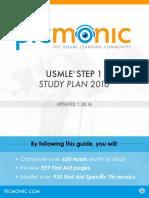 Picmonic Step 1 Study Guide 2016