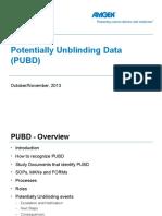 PUBD Training