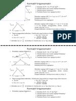 Soal Matematika SMA -Ulangan Harian Trigonometri 2