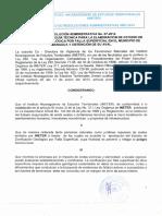 Resolucion Administrativa y Guia Tecnica Para Estudio de Zonificacion Geologica Municipio Managua