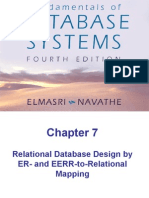 Chap7-Relational Database Design by ER- and EERR-to-Relational Mapping