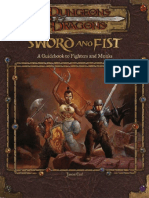 Sword and Fist - A Guidebook to Fighters and Monks