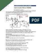 Fabricar Un Amplificador de Sonido o Audio
