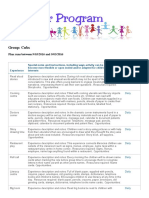 early childhood planning report