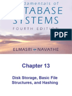 Chap13-Disk Storage, Basic File Structures, and Hashing