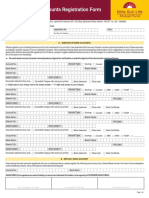 Multiple Bank Accounts Registration Form 11 10