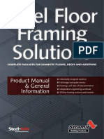 Steel Floor Framing Solutions Complete Packages for Domestic Floors Decks and Additions