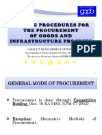 03 Bidding Procedure for Goods and Infra