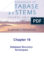 Chap19-Database Recovery Techniques