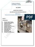 Extraccion Del Aceite de Cacahuate