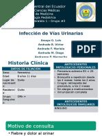 Infección de vías urinarias, caso clínico.