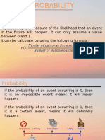 Probability topic