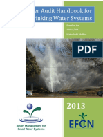 Water Audit Handbook