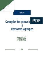 Conception Des Reseaux Logistiques Et Plateforme Logistique