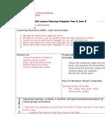 3 lesson plan monday 2 mar