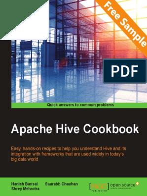 Apache Hive Cookbook - Sample Chapter | Apache Hadoop | Big Data