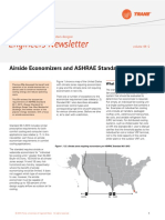 Airside Economizers and ASHRAE Standard 90.1-2013