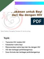 Modul 05 - Makanan Untuk Bayi Dari Ibu Dengan HIV